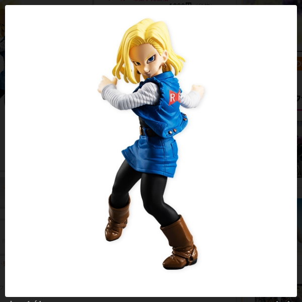 Dragonball Styling Android 18