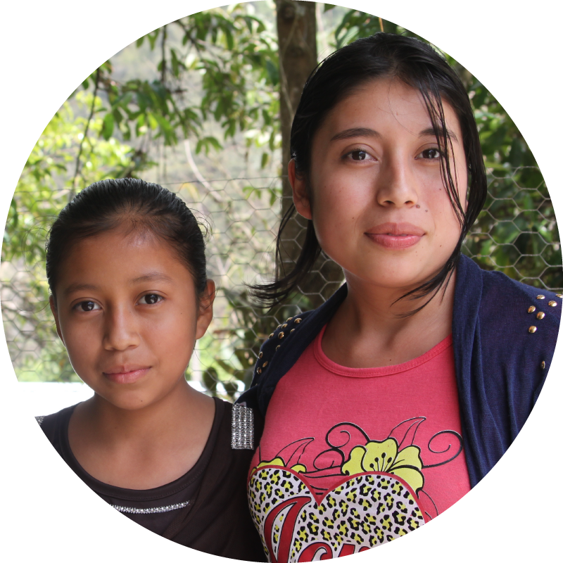 Sisters Leydi y Rebeca were both able to receive surgeries to correct cardiac birth defects