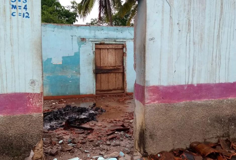 El terremoto que sacudió a Chiapas en Septiembre tuvo como resultado hogares destrozados. Foto por Dr. Assad Daniel Saad Manzanera / Compañeros En Salud