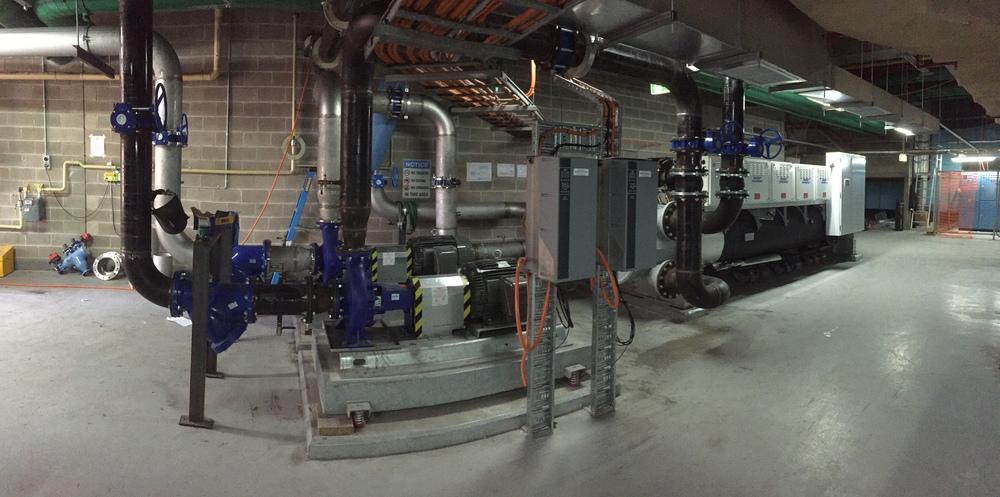 2 Park Street Sydney, Chiller & Pump Installation