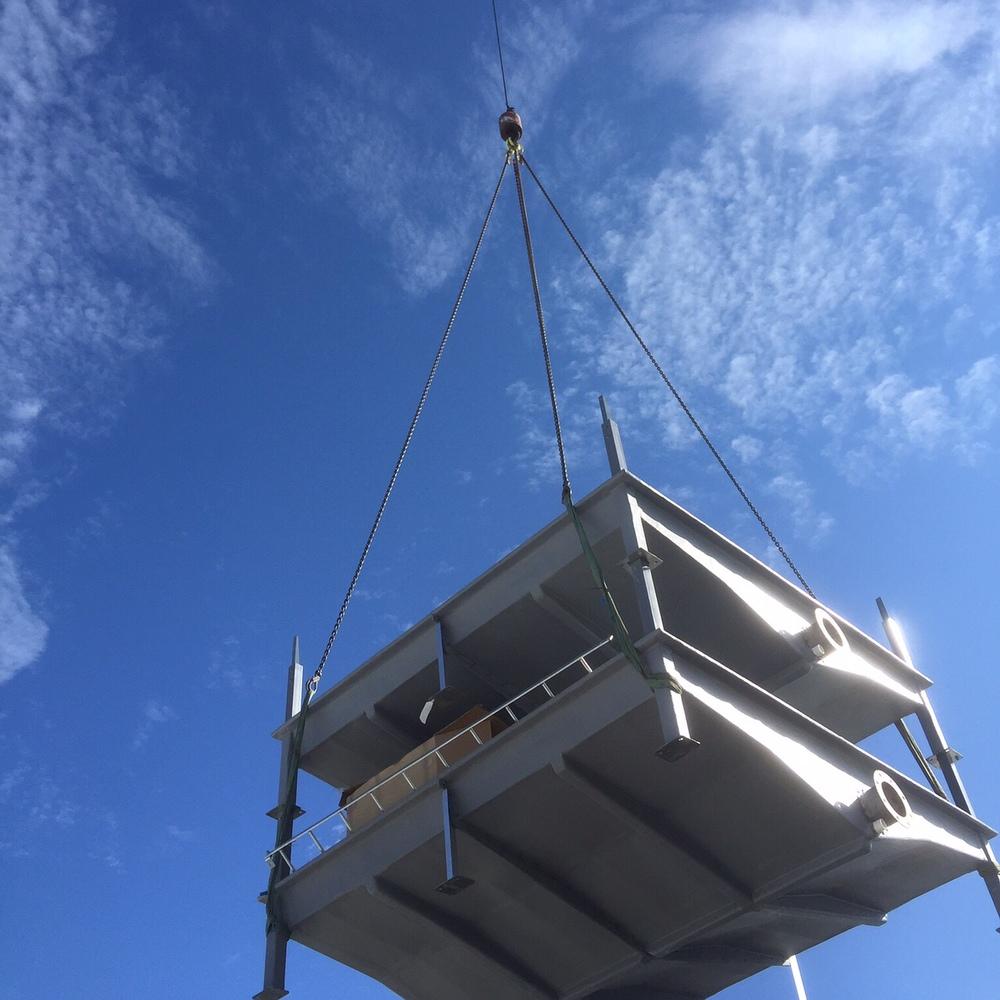 Australia Post, Crane Lift & Rigging