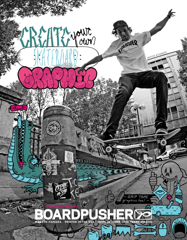BoardPusher Thrasher Ad.