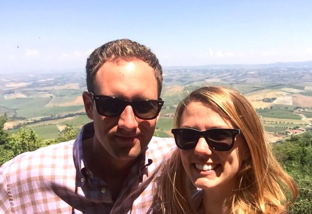 amy&kyle, montalcino, italy