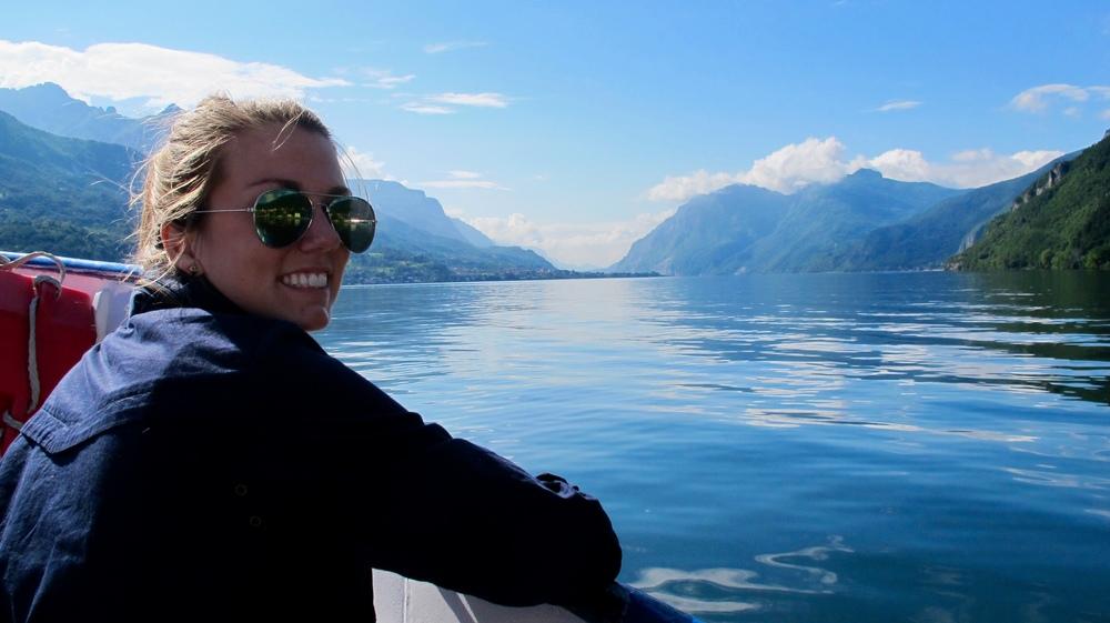 Amy, Lake Como