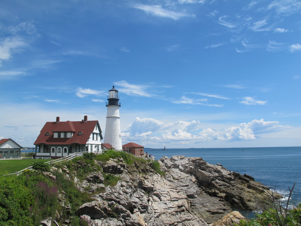 Cape Elizabeth Lighthouse, Portland Headlight, Maine