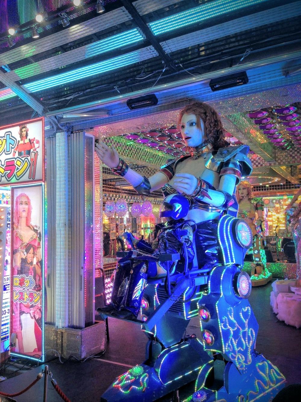 Robot Restaurant, Shinjuku, Tokyo, Japan
