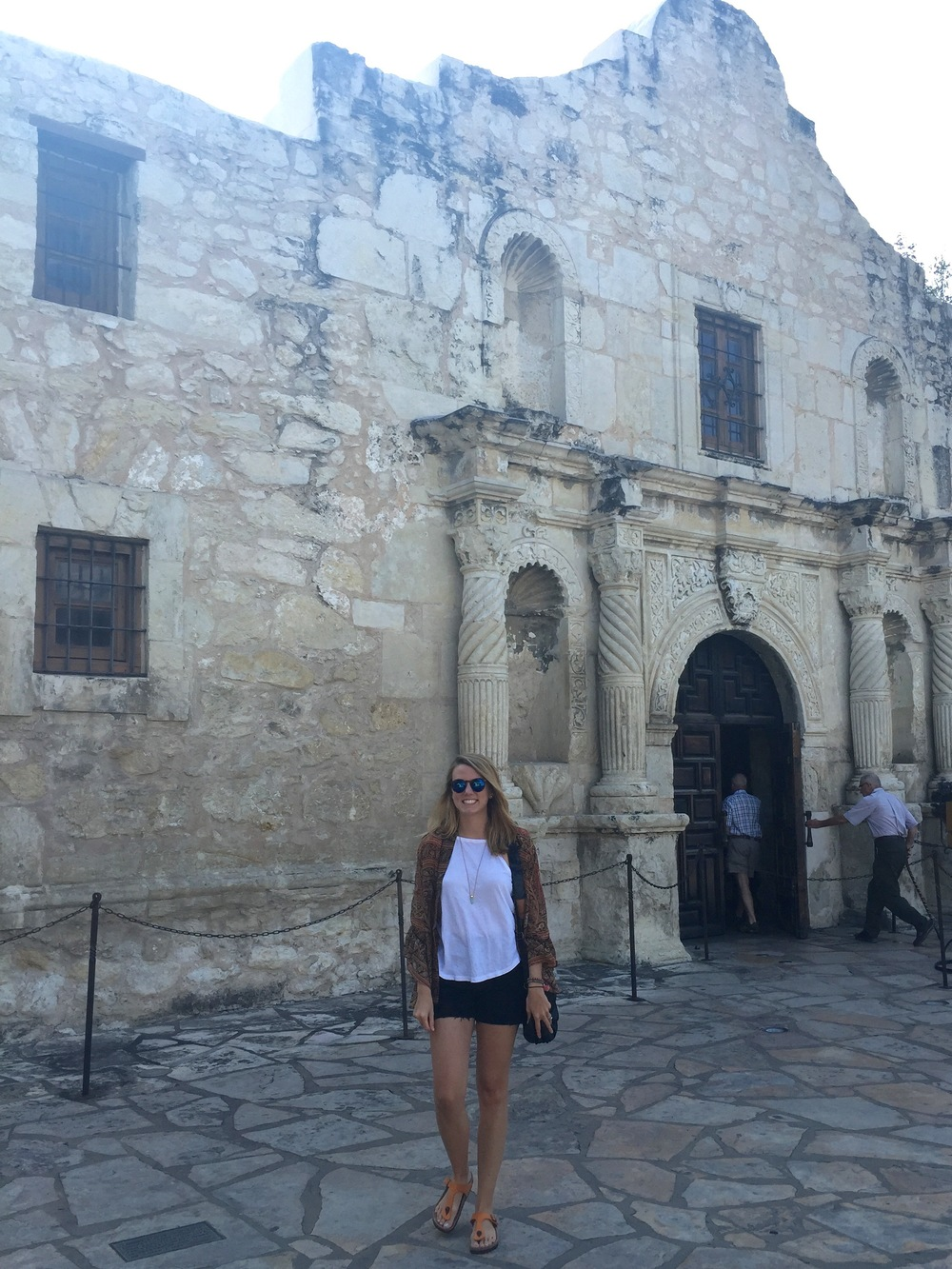 The Alamo, Mission Trail, San Antonio, Texas