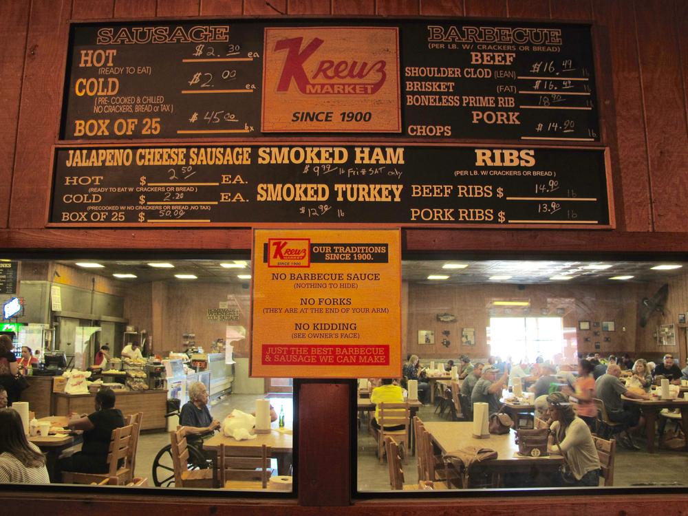 Kreuz Market, Lockhart Texas