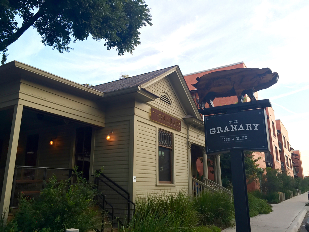 The Granary Cue & Brew, San Antonio, Texas