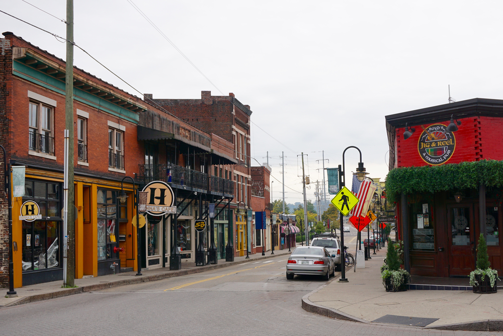 Old City, Knoxville, Tennessee