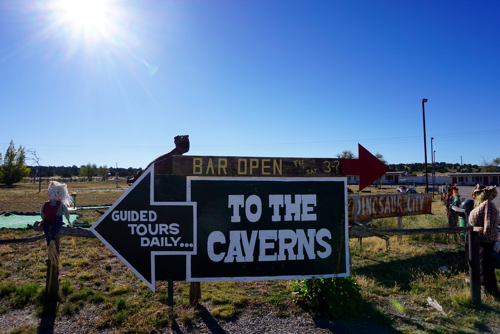 Caverns Inn, Route 66, Peach Springs, Arizona