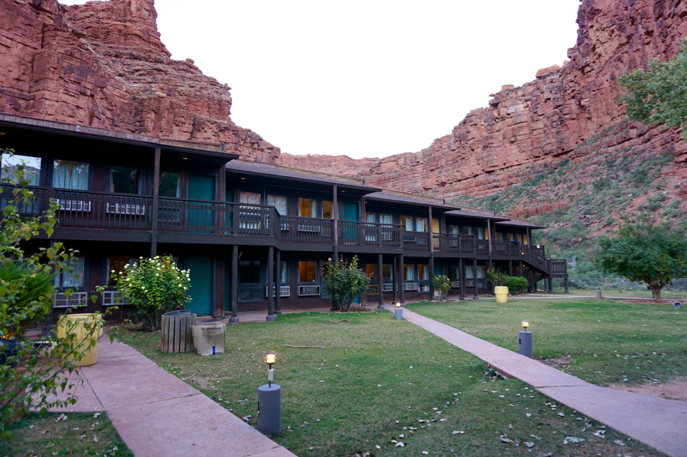 Supai Lodge, Havasupai, Arizona