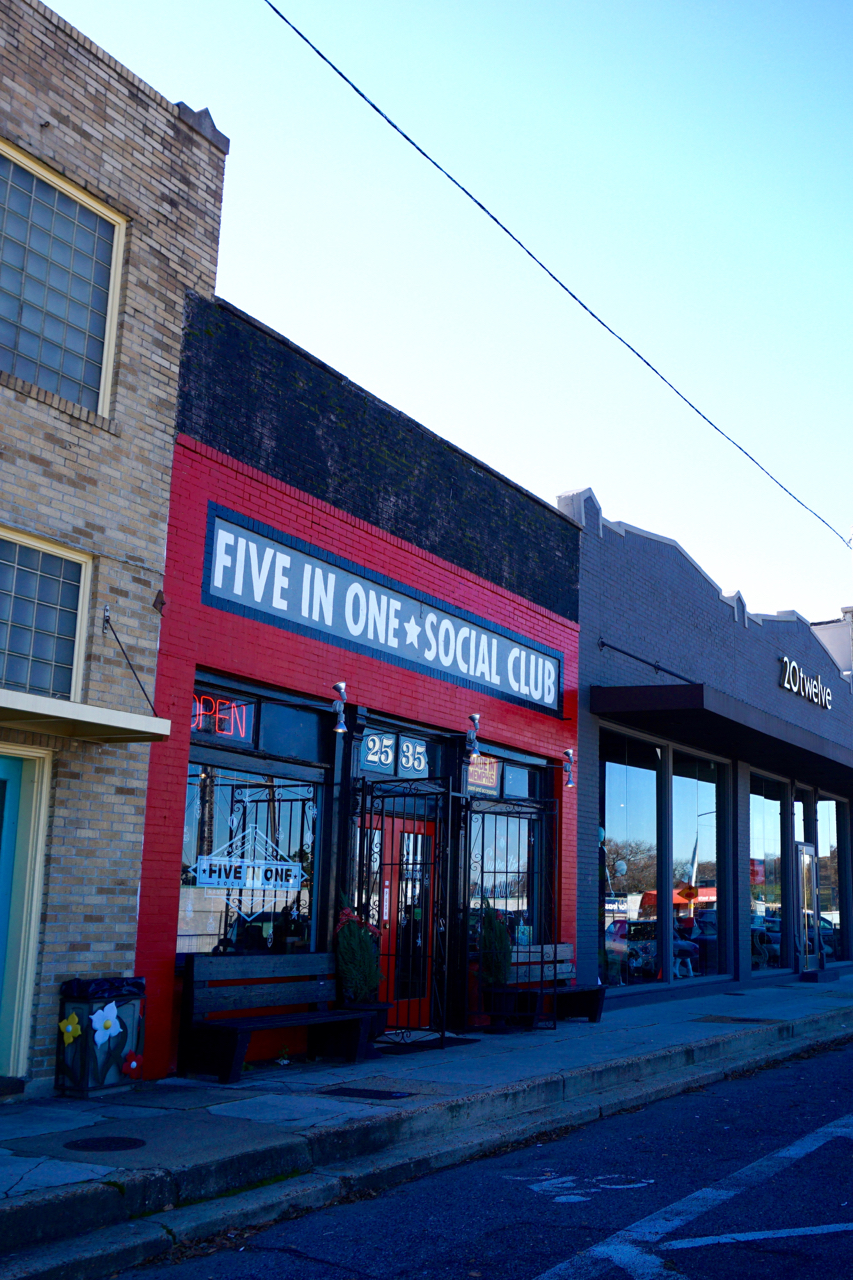 Five In One Social Club, Broad Street, Memphis, Tennessee