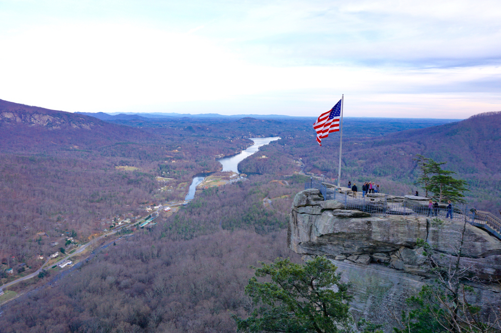 Chimney Rock, North Carolina, Off the Blue Ridge Parkway