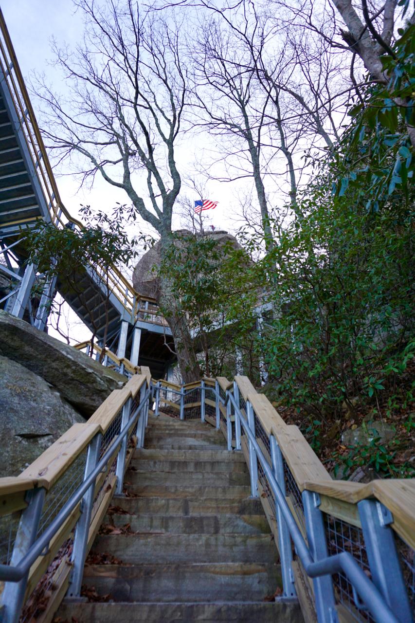 Chimney Rock, North Carolina, Off the Blue Ridge Parkway