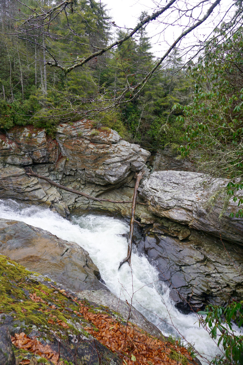 Linville Falls, North Carolina, Blue Ridge Parkway