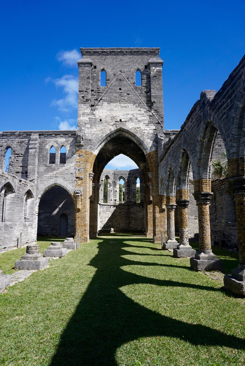 Unfinished Church, St. Georges, Bermuda