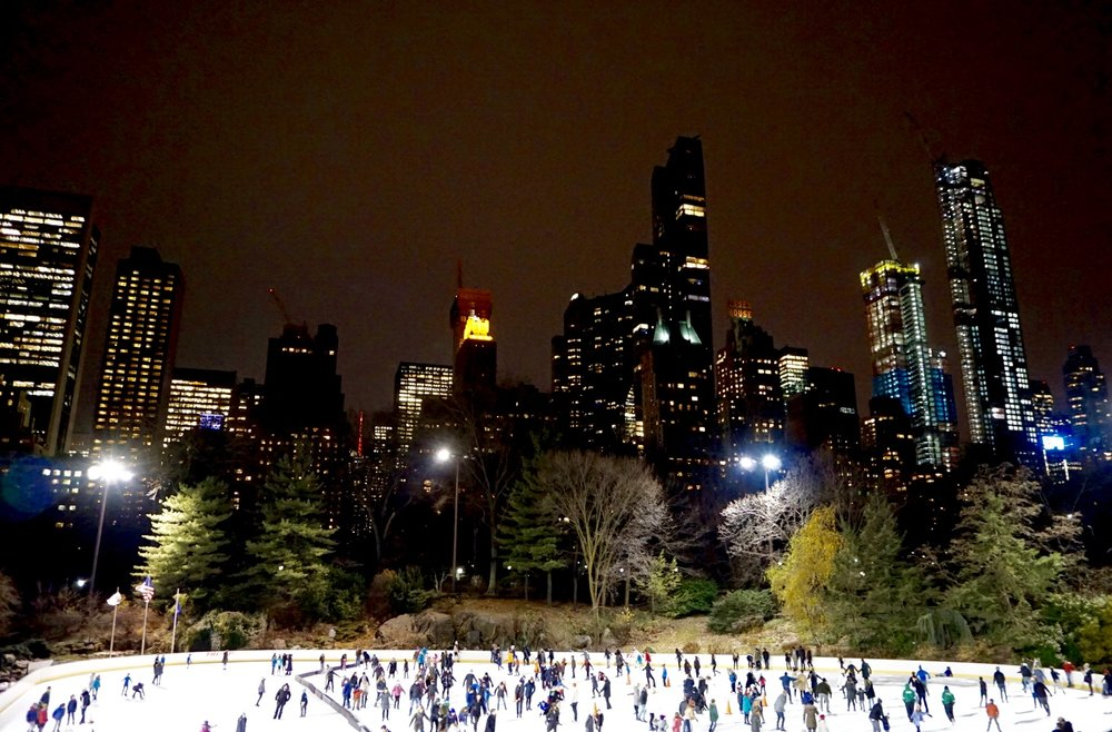 Wollman Rink in Central Park, New York City