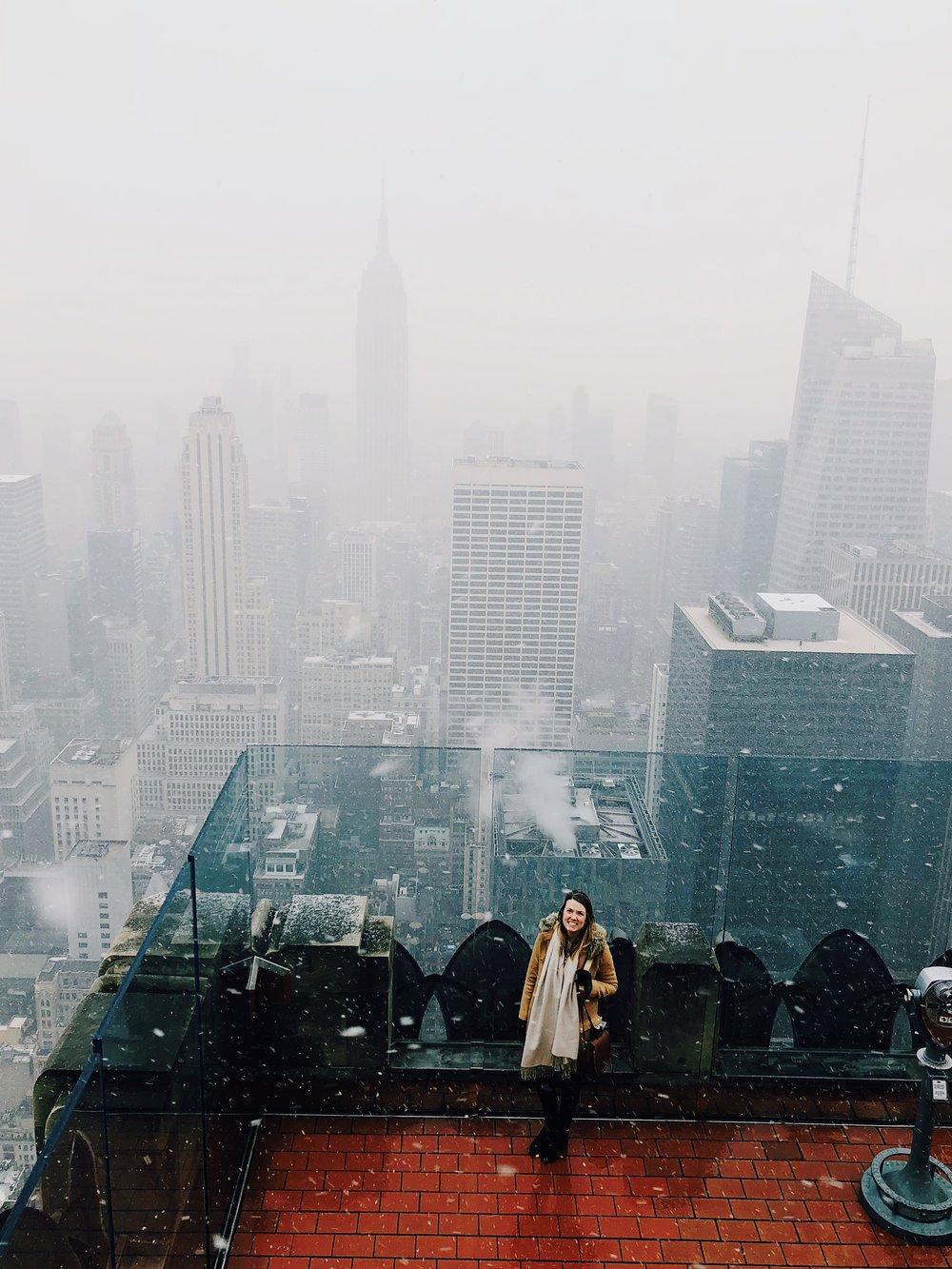 Top of the Rock, Rockefeller Center, New York City