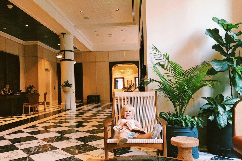 Perry Lane Hotel, Savannah Georgia