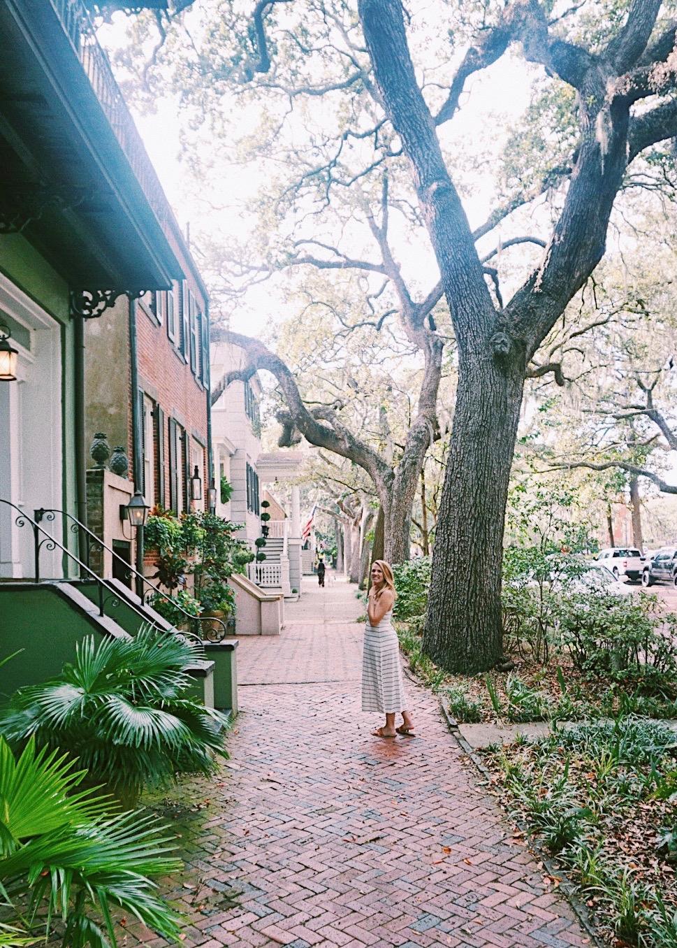 Jones Street, Savannah Georgia