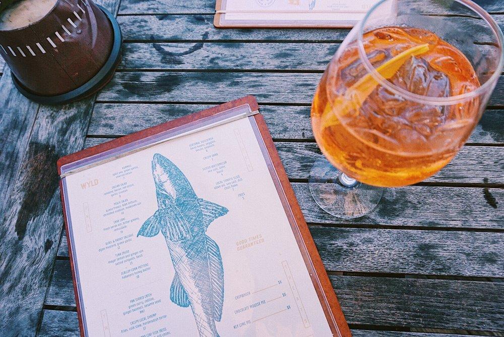 The Wyld Dock Bar, Savannah Georgia