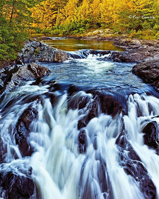 Chutes Provincial Park, ON Canada. In keeping with the season. #opcmag #waterfall  #autumn #chutes www.royramsayphotography.com