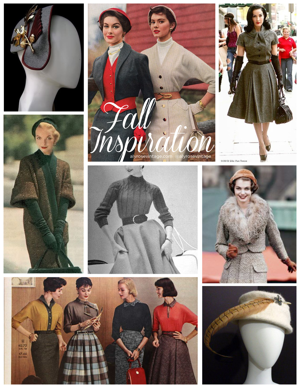 Aly Rose Vintage Fall Inspiration
