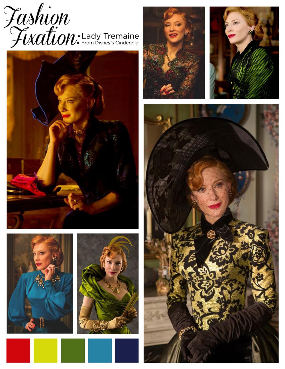 Aly Rose Vintage Fashion Fixation Cinderella Lady Tremaine