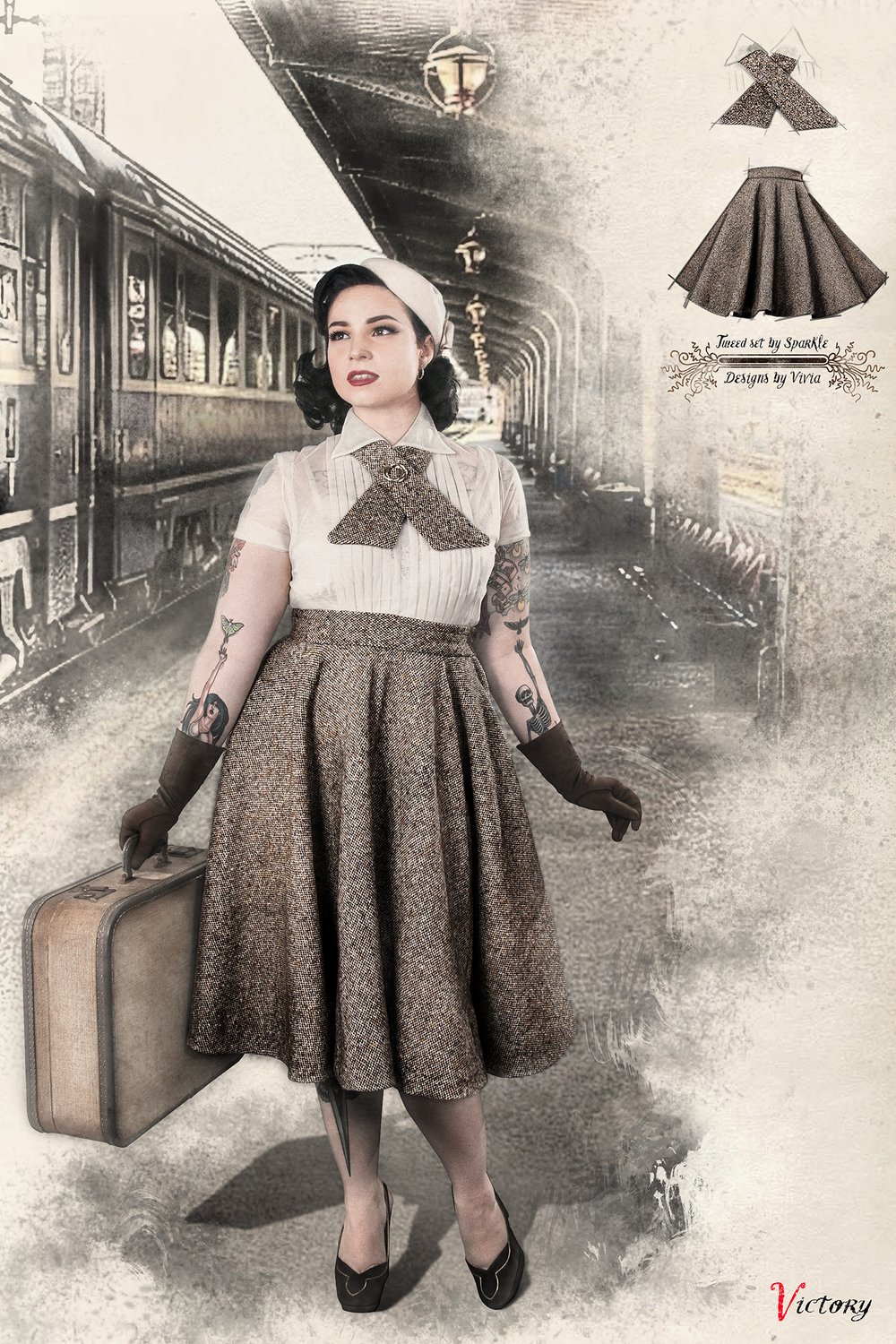 Vintage style clothes ireland  Aly Rose Vintage