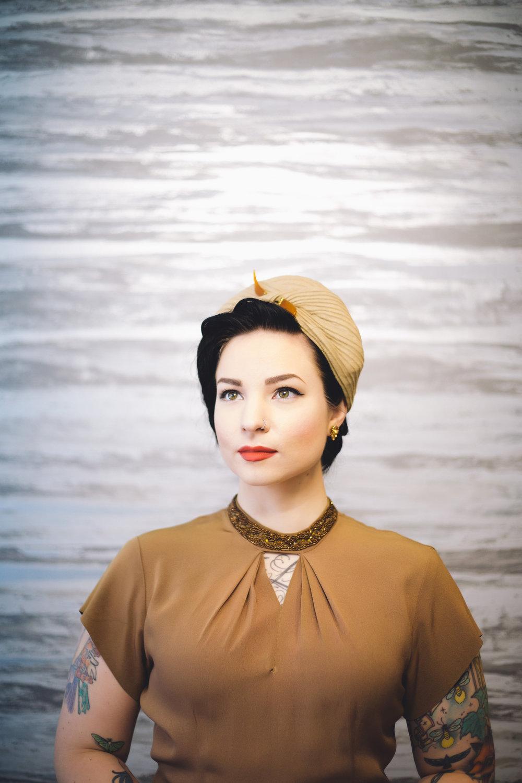 Aly Rose Vintage 1940s cape turban 7.jpg