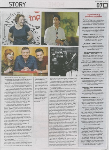 The Age - Pod Squad article - Pg2.JPG