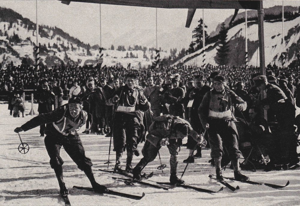 Rudy Finishes First in the 1936 Winter Olympics