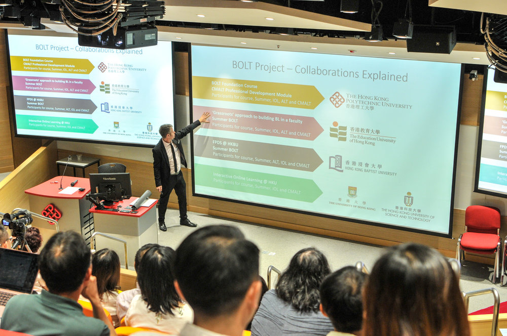 Darren Harbutt, Instructional Designer, Educational Development Centre, The Hong Kong Polytechnic University