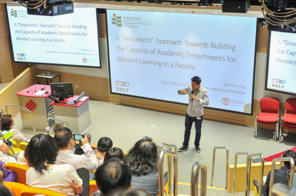 Professor Lim Cher Ping, Chair Professor of Learning Technologies and Innovation, Department of Curriculum and Instruction, The Education University of Hong Kong