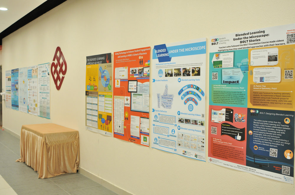 The event closed with a poster presentation with contributions from several universities.