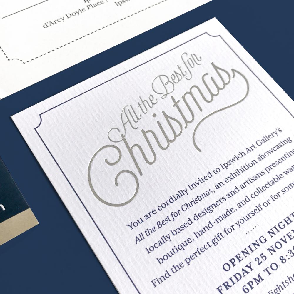 IAG Christmas<strong>Invite Design</strong>