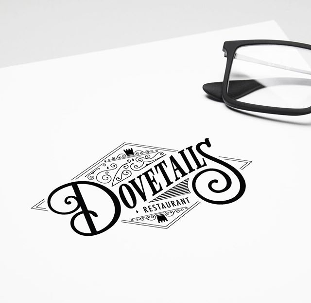 @dovetailsrestaurant  logo design 🍴