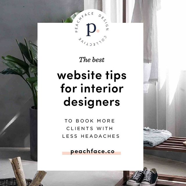 Up now on the blog - a comprehensive guide to the best website tips for interior designers 🏠