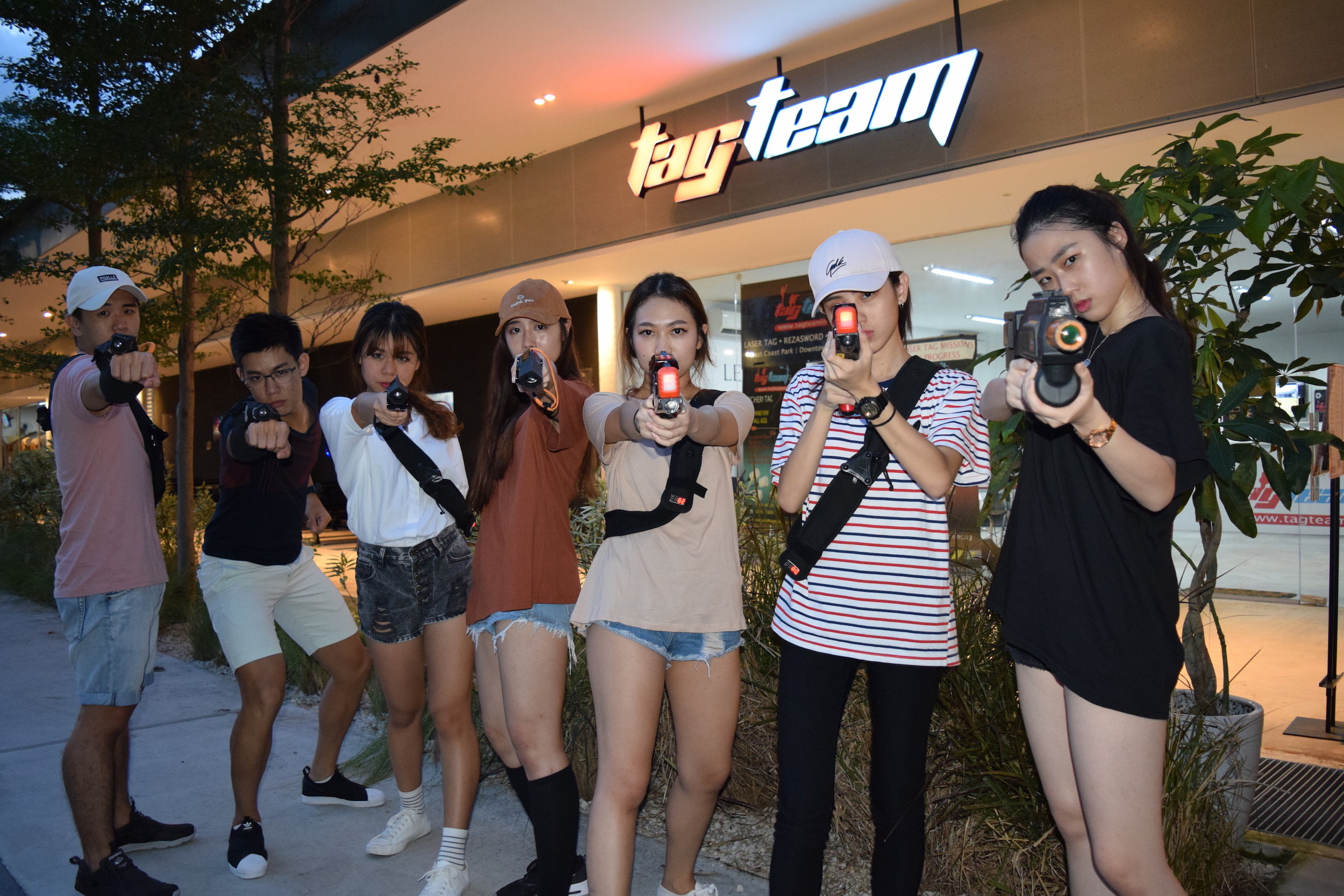 laser tag team building cohesion birthday parties events company 2 group shot 2 smaller jpg