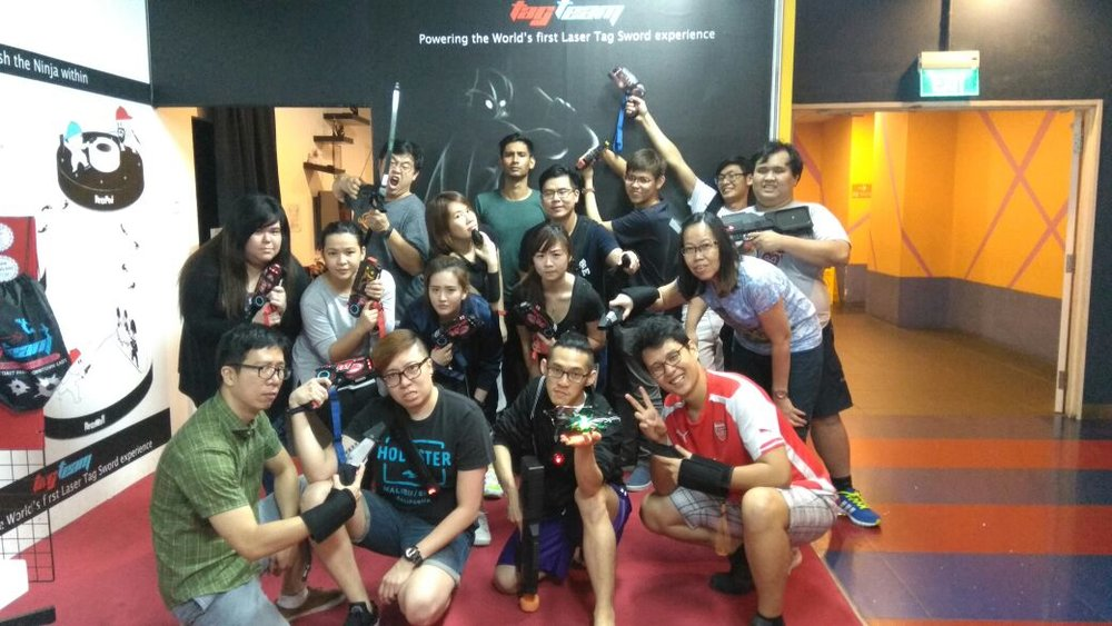 Digimatic Media Team building session on 7 April 2017