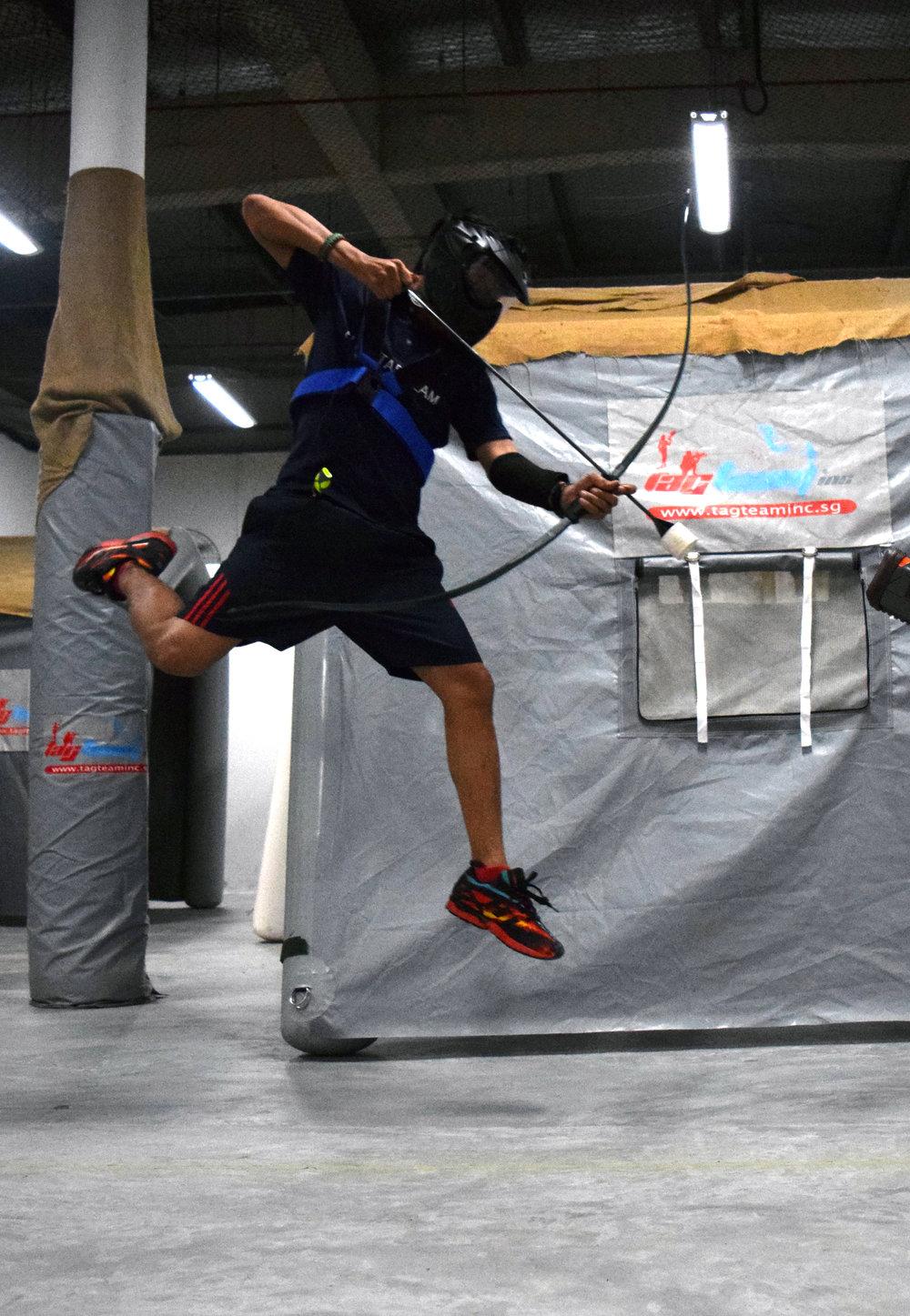 Archery Tag flying.JPG