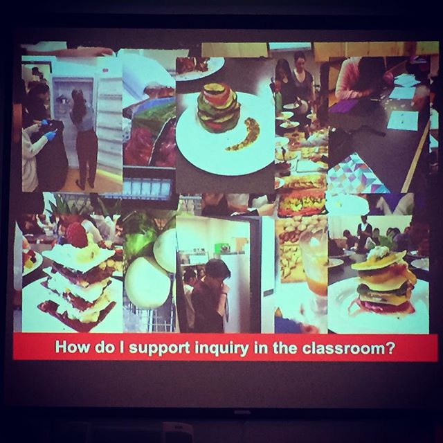 Yes.... We can #inquire in Foods and Nutrition! #mtspdday #mhetasage2015 #ywg #techteam #inquirylearning @teachertong