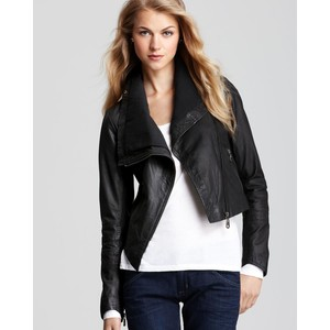 Doma Leather Moto Jacket - Retail $700 - Scored for $300