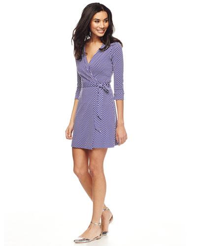Diane von Furstenberg Knit Wrap Dress  -  Retail $400 -  Scored for $59