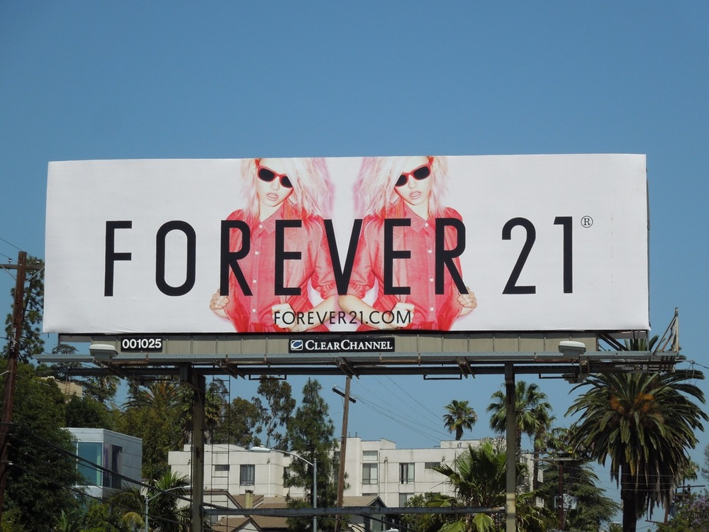 forever21 CharlotteFree billboard.jpg