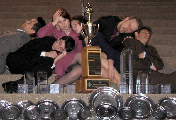 The Revolution, My Senior Class from the Illinois State University Speech Team, Circa 2005