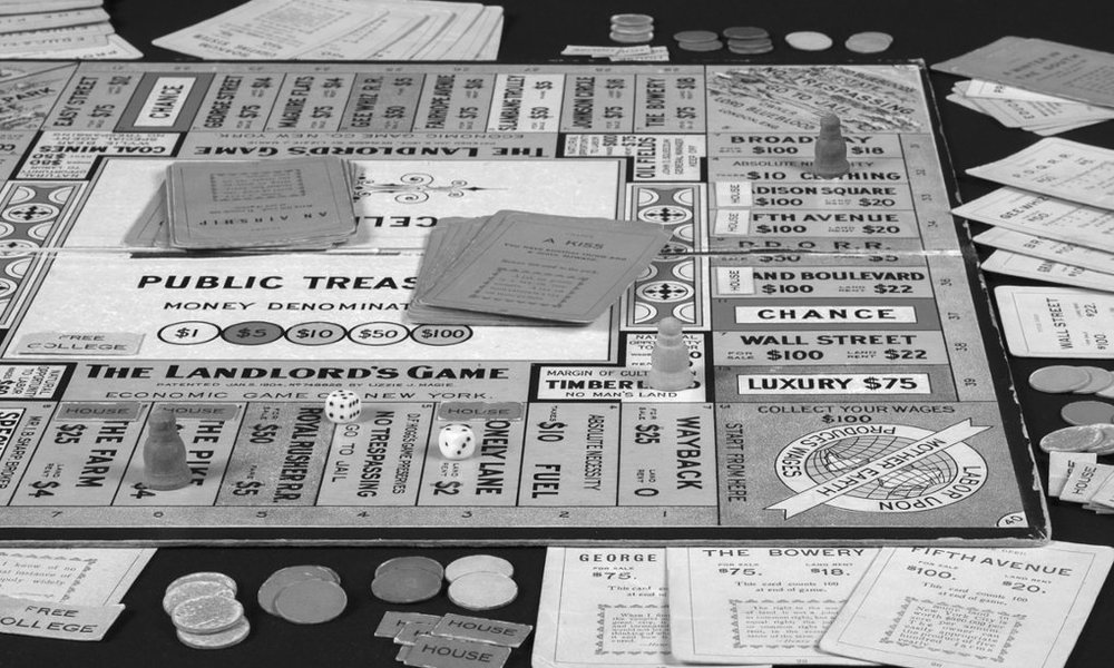 """The Landlord Game"" on which Monopoly was based."