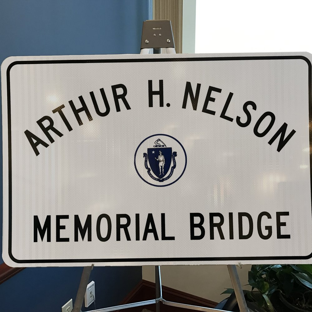 The ARTHUR H. NELSON MEMORIAL BRIDGE