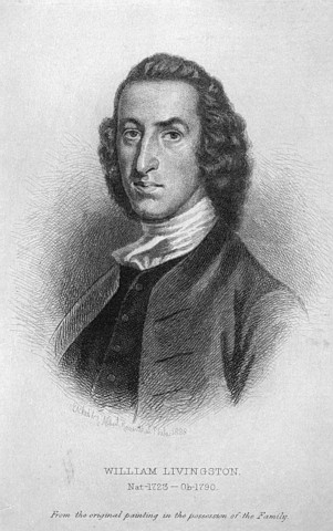 Portrait of William Livingston (November 30, 1723 – July 25, 1790)